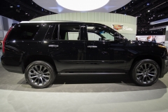 2019 Cadillac Escalade Sport - Exterior - Los Angeles Auto Show - November 2018 003 - Side Profile