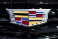 2019 Cadillac Escalade Sport - Exterior - Los Angeles Auto Show - November 2018 007 - Cadillac Logo
