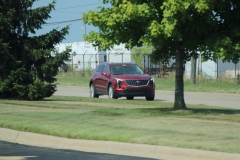 2019 Cadillac XT4 Luxury exterior in Red Horizon Tintcoat GPJ - July 2018 001