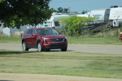 2019 Cadillac XT4 Luxury exterior in Red Horizon Tintcoat GPJ - July 2018 002