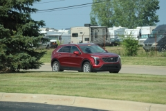 2019 Cadillac XT4 Luxury exterior in Red Horizon Tintcoat GPJ - July 2018 003