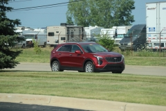 2019 Cadillac XT4 Luxury exterior in Red Horizon Tintcoat GPJ - July 2018 004