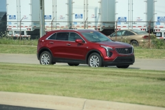 2019 Cadillac XT4 Luxury exterior in Red Horizon Tintcoat GPJ - July 2018 005