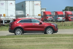 2019 Cadillac XT4 Luxury exterior in Red Horizon Tintcoat GPJ - July 2018 006