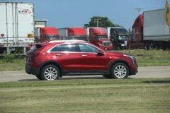 2019 Cadillac XT4 Luxury exterior in Red Horizon Tintcoat GPJ - July 2018 007
