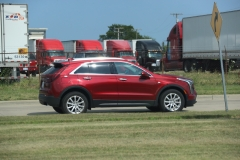 2019 Cadillac XT4 Luxury exterior in Red Horizon Tintcoat GPJ - July 2018 008