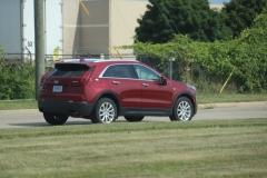 2019 Cadillac XT4 Luxury exterior in Red Horizon Tintcoat GPJ - July 2018 009