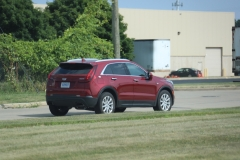 2019 Cadillac XT4 Luxury exterior in Red Horizon Tintcoat GPJ - July 2018 010