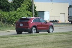 2019 Cadillac XT4 Luxury exterior in Red Horizon Tintcoat GPJ - July 2018 011