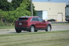 2019 Cadillac XT4 Luxury exterior in Red Horizon Tintcoat GPJ - July 2018 011