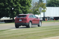 2019 Cadillac XT4 Luxury exterior in Red Horizon Tintcoat GPJ - July 2018 012