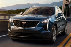 2019 Cadillac XT4 Premium Luxury - Exterior - Seattle Media Drive - September 2018 002