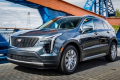 2019 Cadillac XT4 Premium Luxury - Exterior - Seattle Media Drive - September 2018 011