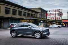 2019 Cadillac XT4 Premium Luxury - Exterior - Seattle Media Drive - September 2018 014