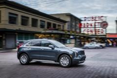 2019 Cadillac XT4 Premium Luxury - Exterior - Seattle Media Drive - September 2018 014