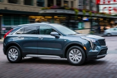 2019 Cadillac XT4 Premium Luxury - Exterior - Seattle Media Drive - September 2018 015