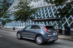 2019 Cadillac XT4 Premium Luxury - Exterior - Seattle Media Drive - September 2018 018