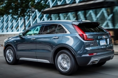 2019 Cadillac XT4 Premium Luxury - Exterior - Seattle Media Drive - September 2018 019