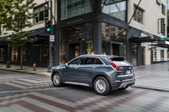 2019 Cadillac XT4 Premium Luxury - Exterior - Seattle Media Drive - September 2018 020