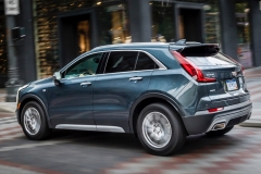 2019 Cadillac XT4 Premium Luxury - Exterior - Seattle Media Drive - September 2018 021