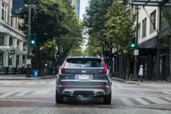 2019 Cadillac XT4 Premium Luxury - Exterior - Seattle Media Drive - September 2018 022