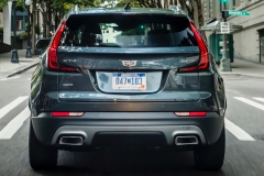 2019 Cadillac XT4 Premium Luxury - Exterior - Seattle Media Drive - September 2018 025