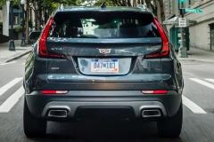 2019 Cadillac XT4 Premium Luxury - Exterior - Seattle Media Drive - September 2018 025