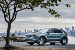 2019 Cadillac XT4 Premium Luxury - Exterior - Seattle Media Drive - September 2018 030