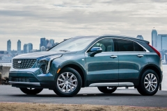 2019 Cadillac XT4 Premium Luxury - Exterior - Seattle Media Drive - September 2018 031