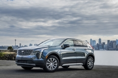 2019 Cadillac XT4 Premium Luxury - Exterior - Seattle Media Drive - September 2018 032