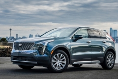 2019 Cadillac XT4 Premium Luxury - Exterior - Seattle Media Drive - September 2018 033
