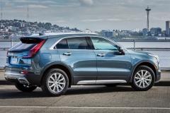 2019 Cadillac XT4 Premium Luxury - Exterior - Seattle Media Drive - September 2018 035