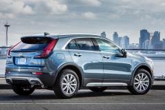 2019 Cadillac XT4 Premium Luxury - Exterior - Seattle Media Drive - September 2018 039