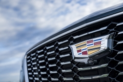 2019 Cadillac XT4 Premium Luxury - Exterior - Seattle Media Drive - September 2018 048 - grille with Cadillac logo
