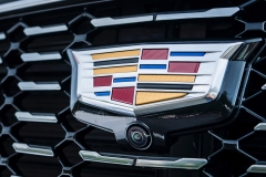 2019 Cadillac XT4 Premium Luxury - Exterior - Seattle Media Drive - September 2018 052 - grille with Cadillac logo
