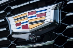 2019 Cadillac XT4 Premium Luxury - Exterior - Seattle Media Drive - September 2018 053 - grille with Cadillac logo