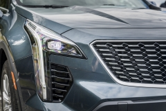 2019 Cadillac XT4 Premium Luxury - Exterior - Seattle Media Drive - September 2018 054 - headlight