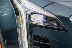 2019 Cadillac XT4 Premium Luxury - Exterior - Seattle Media Drive - September 2018 055 - headlight