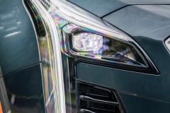 2019 Cadillac XT4 Premium Luxury - Exterior - Seattle Media Drive - September 2018 055 - headlight