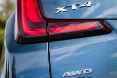 2019 Cadillac XT4 Premium Luxury - Exterior - Seattle Media Drive - September 2018 061 - XT4 AWD badge