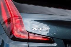 2019 Cadillac XT4 Premium Luxury - Exterior - Seattle Media Drive - September 2018 063 - XT4 badge