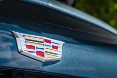 2019 Cadillac XT4 Premium Luxury - Exterior - Seattle Media Drive - September 2018 065 - Cadillac logo