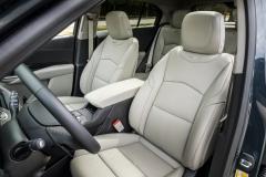 2019 Cadillac XT4 Premium Luxury - Interior - Seattle Media Drive - September 2018 001 - front seats