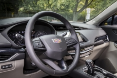 2019 Cadillac XT4 Premium Luxury - Interior - Seattle Media Drive - September 2018 005 - steering wheel