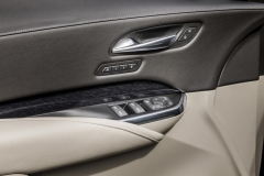 2019 Cadillac XT4 Premium Luxury - Interior - Seattle Media Drive - September 2018 008 - door panel with door handle and seat memory buttons