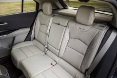 2019 Cadillac XT4 Premium Luxury - Interior - Seattle Media Drive - September 2018 009 - rear seats
