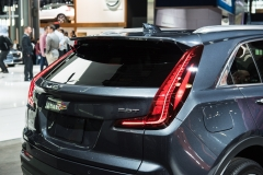 2019 Cadillac XT4 Premium Luxury exterior - 2018 New York Auto Show live 012 - rear end