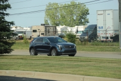 2019 Cadillac XT4 Premium Luxury in Twilight Blue Metallic GA0 with 18 inch 10-spoke wheels REP  - July 2018 004