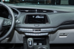 2019 Cadillac XT4 Premium Luxury interior - 2018 New York Auto Show live 008 - center stack and infotainment screen