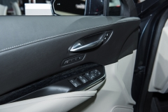 2019 Cadillac XT4 Premium Luxury interior - 2018 New York Auto Show live 015 - front door insert